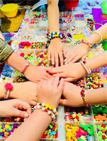 Kids beads Jewellery making with Beadoir London